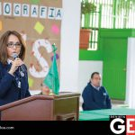La directora del Instituto Senda del Río agradeció la presencia de las escuelas participantes