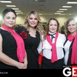 Blanca Dena de Cázares, Connie Zazueta, Diana Bustamante de Gálvez y Lucy Valles de Juan Campos