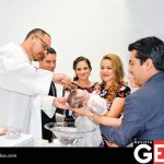 El padre Manuel Chávez fue el encargado de bautizar a Rosalina