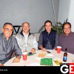 Enrique González Huereña, Óscar Pérez, Steven Trucios y Roy Hernández