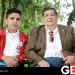 Manuel Alejadro Monreal Díaz y José Luis García Pastrana del Colegio Independencia