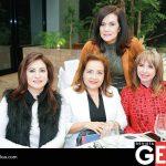 Carmelita de Zaragoza, María del Socorro de Luna, Oralia de Manjarrez y Olivia Gaxiola
