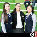 Clarissa Morales, María Fernanda Malacón y Guadalupe Hernández Sandoval