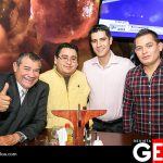 Mario Óscar Maldonado, Emilio Hurtado, Luis Mario Valdez y Carlos Mario Rodríguez