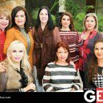 Olivia Gaxiola, Carmelita de Zaragoza, Leticia Segura, Rocío Rodríguez, Josefina Román, Yamel Psihas, Delia Barraza y Silvia Sarmiento