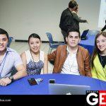 Silvano Angulo, Diana Tinoco, Fredy Peraza y Karyme Félix