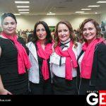 Blanca Dena, Martha Beltrán de Miles, Diana Bustamante de Gálvez y Lucy Valle de Juan Campos