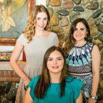 Fernanda Tamayo, Daniela Félix y Thania Zaragoza