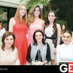 Flory Villarreal, Minerva Castellanos, Cristina Garza, Flory Garza de Villarreal, Rocío Retamoza de Gastélum y Thalia Gastélum
