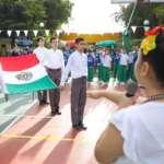 Instituto Senda conmemora el día de la bandera