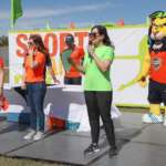 Familias celebran el Sports & Family Day