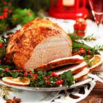 Tradicional pierna ahumada para tu cena de fin de año