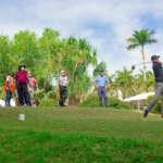 Gran éxito, el primer torneo golf nissan