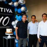 festejan el 10º aniversario de TIVA, Arquitectura, Construcción e Inmobiliaria