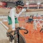 Daniela Gaxiola avanza en keirin de ciclismo
